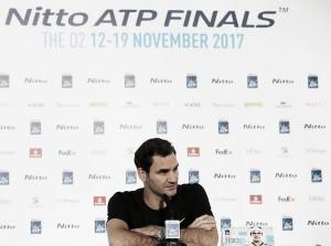 """Roger Federer: """"Que Rafa esté aquí es una buena señal"""""""