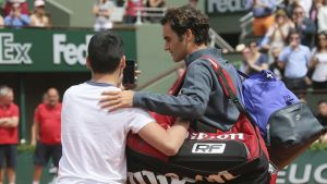 Federer Upset With Lack Of Security At The French Open