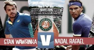 Wawrinka - Nadal in diretta, LIVE finale Roland Garros 2017 - Rafa, la decima è realtà! (0-3)