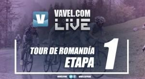Resultado de la primera etapa del Tour de Romandía 2017: Albasini resiste y golpea