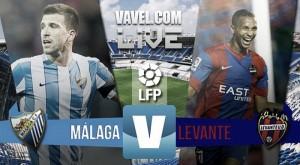 El Málaga manda al Levante a Segunda División