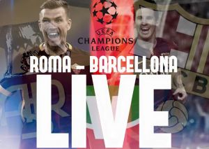 Live Roma - Barcellona, risultato partita Champions League 2015/16  (1-1)