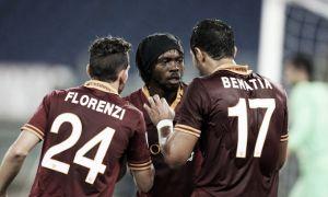 La Roma abofetea al Bolonia