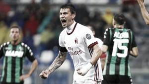 Il Milan torna a vincere, Romagnoli e Suso abbattono il Sassuolo