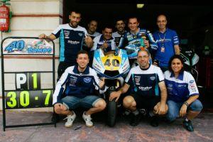 Román Ramos se hace con el título de Moto2