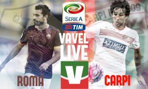 Risultato Roma - Carpi, Serie A 2015/2016 (5-1): a segno Manolas, Pjanic, Gervihno, Salah e Digne
