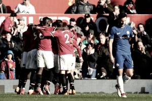 Lukaku decide, e Manchester United vira para cima do Chelsea no Old Trafford