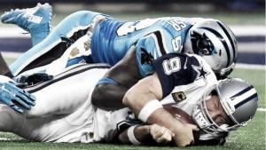 Noche negra para Romo frente a unos Panthers todavía invictos