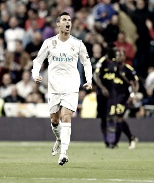 Cristiano: 50 goles en Champions en el Santiago Bernabéu