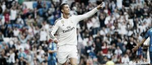 Real Madrid 7-3 Getafe: Ronaldo & co run riot at the Bernabeú