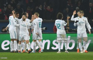 Paris Saint-Germain 1-2 Real Madrid: Madrid advance to quarter-finals as PSG miss Neymar