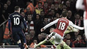 Arsenal 1-2 Manchester United: Arsenal Player Ratings
