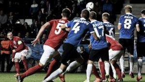 Estonia 0-1 England: Rooney scores only goal in Group E match