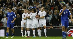 England beat footballing minnows