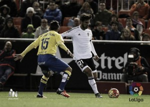 Valencia CF - UD Las Palmas: puntuaciones de UD Las Palmas, jornada 12 de la Liga BBVA