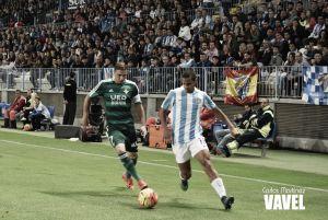 Rosales, mejor jugador del Málaga ante el Betis para los lectores de VAVEL