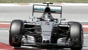 Barcellona, Nico Rosberg conquista la sua prima pole stagionale