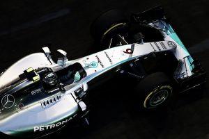 Nico Rosberg comienza mandando