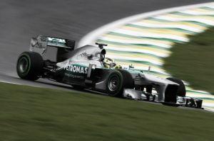 Rosberg se mantiene al frente en los segundos libres del GP de Brasil