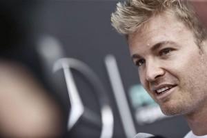 """Nico Rosberg: """"Ha sido una buena forma de empezar el fin de semana""""."""
