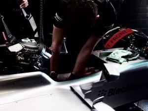 Mercedes ya saca el mazo desde los Libres 1