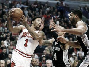Los Bulls machacan a San Antonio Spurs bajo la dirección de Rose