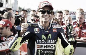 """Valentino Rossi: """"Estoy satisfecho, la carrera ha tenido mucho nivel"""""""