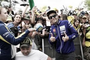 """Valentino Rossi: """"Es una pena porque somos competitivos en ritmo de carrera"""""""