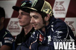 """Valentino Rossi: """"Estoy contento con la primera posición"""""""