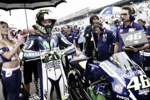 """Valentino Rossi: """"Con temperatura alta he sufrido mucho"""""""