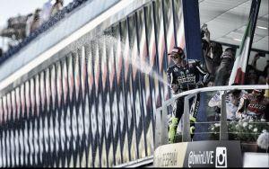"""Valentino Rossi: """"Estoy orgulloso y contento por acabar segundo"""""""