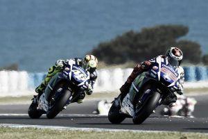 Las cuentas de Rossi y Lorenzo para ser campeones