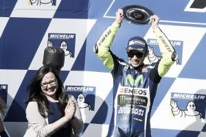 """Valentino Rossi: """"Pensé que podría hacerme con la victoria"""""""