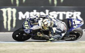 """Valentino Rossi: """"Estoy contento porque el equipo ha mejorado el 'setting'"""""""