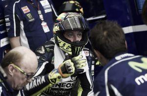 """Valentino Rossi: """"No era capaz de conseguir la velocidad adecuada"""""""