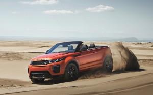 Range Rover Evoque Convertible: entre la tierra y el cielo