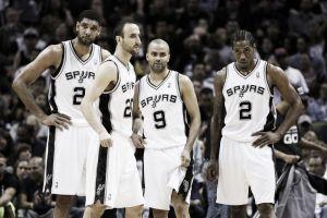 Último cuarto de temporada, momento San Antonio Spurs