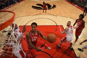NBA - Washington cede nell'ultimo quarto, Raptors ancora vittoriosi