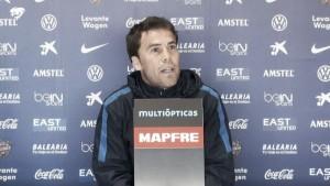 """Rubi: """"Si ganamos al Espanyol es media permanencia"""""""