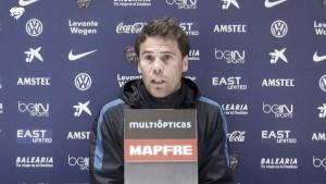 """Rubi: """"El planteamiento es el de ir a Granada a ganar"""""""