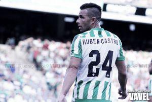 """Rubén Castro: """"Cuando antes encajábamos un gol, nos veníamos abajo. Ahora hemos reaccionado"""""""