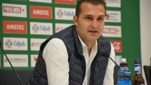 """Rubén Baraja: """"Sumar tres puntos nos puede consolidar en los play-off"""""""