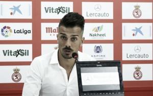 """Rubén de la Barrera: """"Vamos con el objetivo de ganar al Reus"""""""