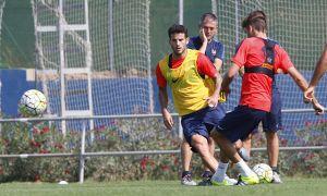 El Levante UD completa su último entrenamiento de la semana
