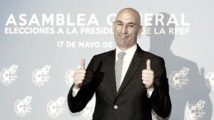"""Rubiales: """"El cambio es imparable"""""""