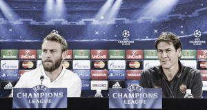 """Roma, Garcia e De Rossi: """"Daremo tutto per i nostri tifosi"""""""