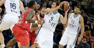 Un brillante Madrid gana la primera batalla al Olympiacos