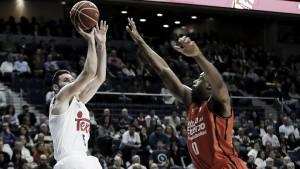 El 1x1 del Real Madrid ante el Valencia Basket