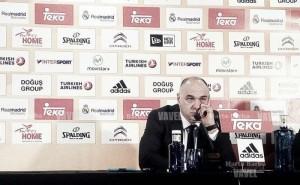 """Pablo Laso: """"Estoy tranquilo, veo al equipo centrado"""""""