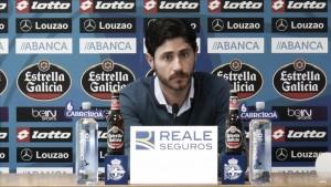 """Víctor Sánchez: """"Nuestro objetivo era intentar conseguir los tres puntos"""""""